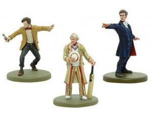 Warlord Games Doctor Who 5th,11th E 12th Doctors Gioco Da Tavolo