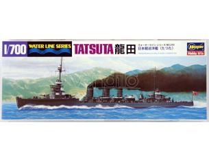 HASEGAWA 43310 IJN LIGHT CRUISER TATSUTA 1:700 KIT Modellino