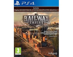 RAILWAY EMPIRE SIMULAZIONE - PLAYSTATION 4