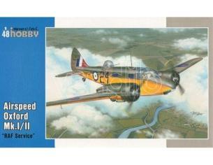 SPECIAL HOBBY 48122 AIRSPEED OXFORD MK.I/II RAF SERVICE 1:48 KIT Modellino