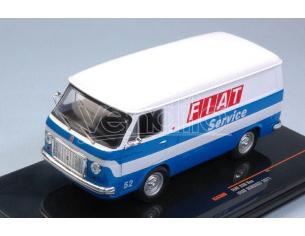 Ixo model CLC300 FIAT 238 VAN 1971 SERVICE FIAT 1:43 Modellino