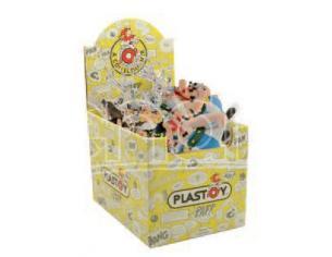 Plastoy Asterix Portachiavis Assortiti Display (25) Portachiavi
