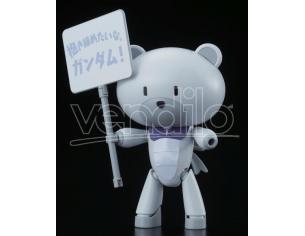 BANDAI MODEL KIT HG PETITGGUY GRAHAM AKER WHITE 1/144 MODEL KIT