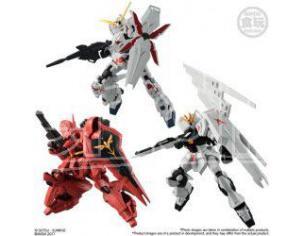 Bandai Shokugan Ms Gundam G-frame S.1 Display 10 Pezzi Mini Figura 1:10