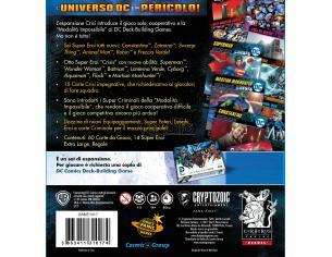 CRYPTOZOIC COSMIC GAMES DC DECK BUILDING GAME CRISIS EXP SET ITA GIOCO DA TAVOLO