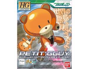 Bandai Model Kit Hg Petitgguy Allelujah Hap Arancione 1/144 Model Kit