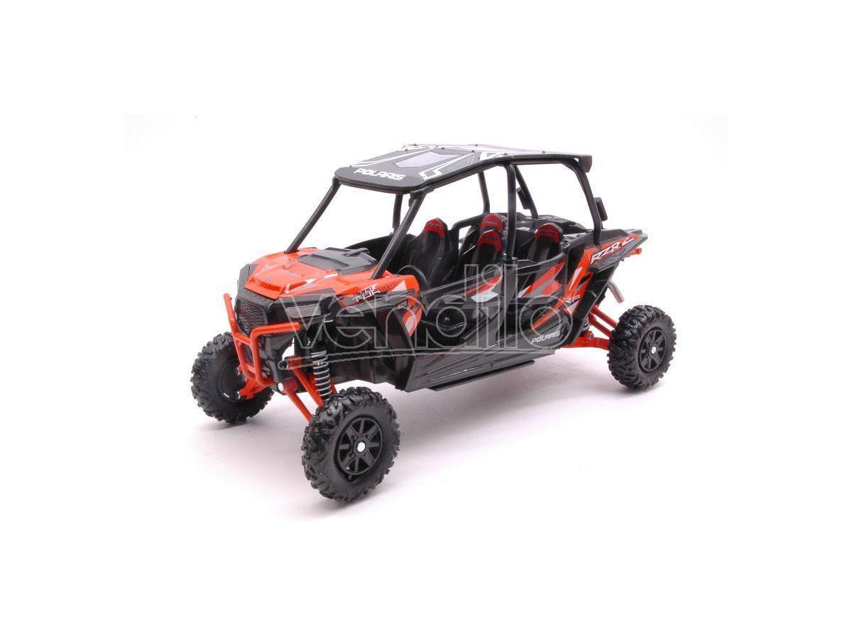 New Ray Ny57843or Polaris Rzr Xp Turbo Eps Arancione 1:18 Modellino