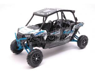 New Ray NY57843W POLARIS RZR XP TURBO EPS WHITE 1:18 Modellino
