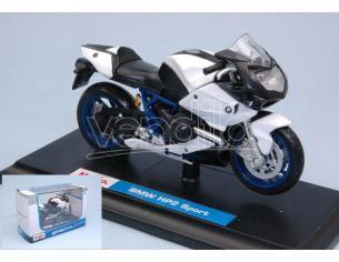 Maisto MI05232B SUZUKI GSX-R1000 BLUE/WHITE 1:18 Modellino