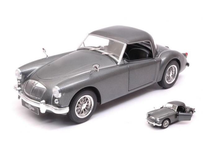Triple 9 T9-1800161 MGA MKI A 1500 CLOSED HARD TOP 1957 SILVERGUN 1:18 Modellino
