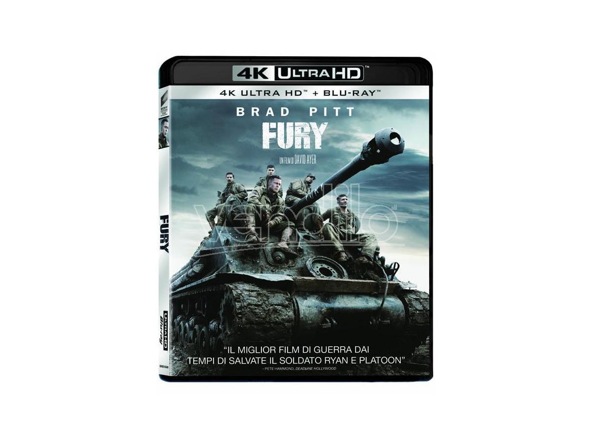 FURY 4K UHD DRAMMATICO - BLU-RAY