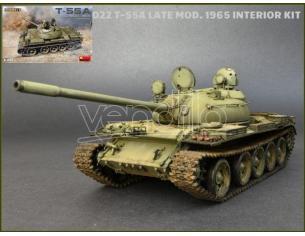 Miniart MIN37022 T-55A LATE MOD.1965 KIT 1:35 Modellino