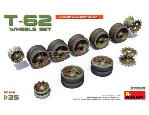 Miniart MIN37060 T-62 WHEELS SET KIT 1:35 Modellino