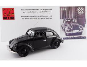 Rio RI4568 VW PRESENTATION OF THE FIRST KDF WAGEN 1942 (AGENTS OF THE SS) 1:43 Modellino