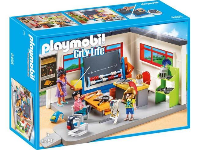 PLAYMOBIL 9455 - LEZIONE DI STORIA