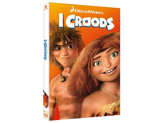 I CROODS ANIMAZIONE - DVD