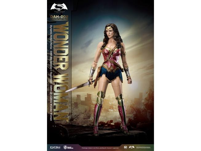 Dc Cosmic Batman Vs Superman Figura Wonder Woman 20 cm Beast Kingdom