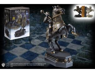 Harry Potter Fermalibri Statua / Pedina Cavaliere Nero Noble Collection