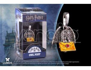 Harry Potter Ciondolo Gufo Postino Con Letteraa Noble Collection