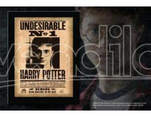 """Harry Potter Targa / Placca """"indesiderabile N. 1"""" Collezione Noble Collection"""