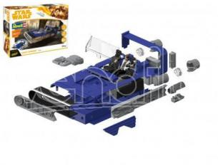 Revell RV06769 STAR WARS BUILD & PLAY C HAN SOLO KIT 1:164 Modellino