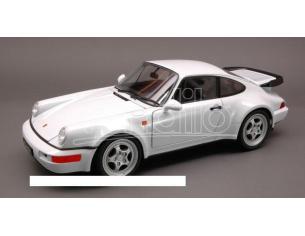 Welly WE2736 PORSCHE 964 TURBO 1991 WHITE 1:18 Modellino