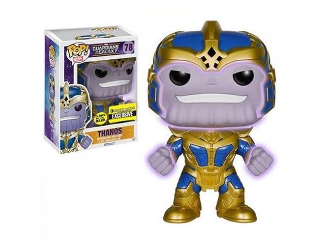 Guardiani della Galassia Funko POP Film Thanos Luminoso 14 cm Esclusiva