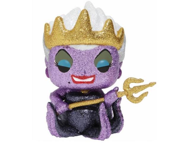 La Sirenetta Funko POP Disney Ursula Glitter 9 cm Esclusiva SCATOLA ROVINATA
