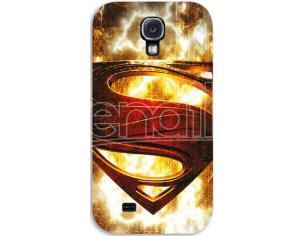 COVER LOGO SUPERMAN SAMSUNG S4 CUSTODIE/PROTEZIONE - MOBILE/TABLET