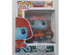 Funko Masters of the Universe POP Television Vinile Figura Faker 9 cm Esclusiva