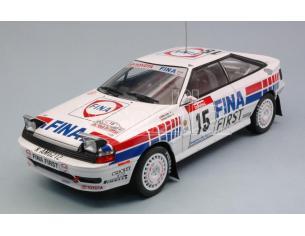 Triple 9 T9-1800200 TOYOTA CELICA GT-4 N.15 4th TOUR DE CORSE 1991 M.DUEZ-K.WICHA 1:18 Modellino