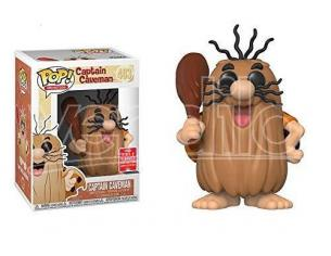 Hanna Barbera Funko POP Animation Vinile Figura Capitan Caverna 9 cm Esclusiva