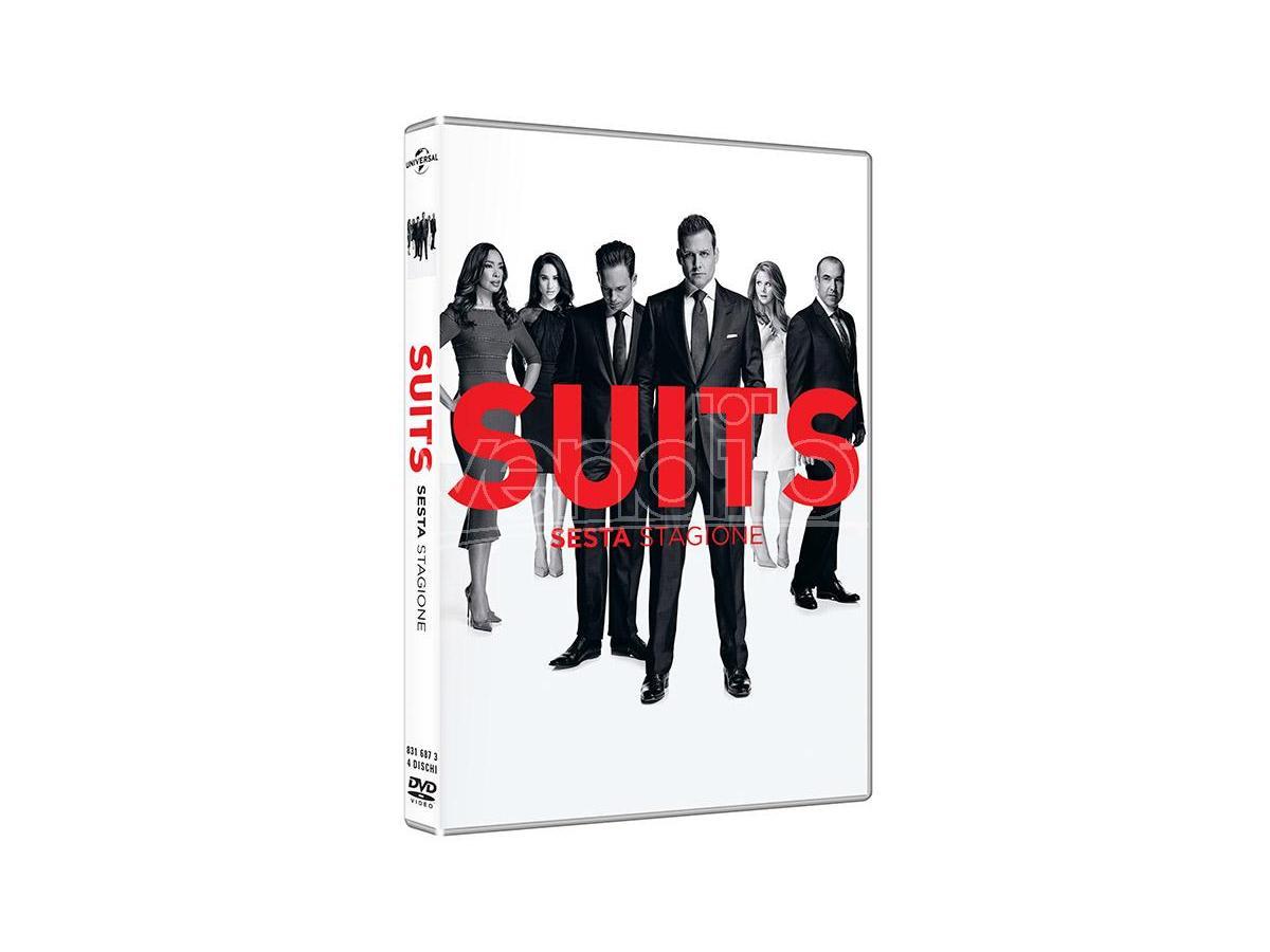 SUITS - STAGIONE 6 (4 DISCHI) SERIE TV DVD
