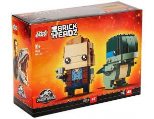 LEGO BRICKHEADZ 41614 - JURASSIC WORLD: OWEN E BLUE