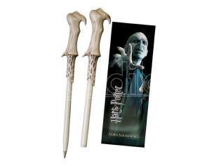 Harry Potter Penna E Segnalibro Bacchetta Lord Voldemort Noble Collection