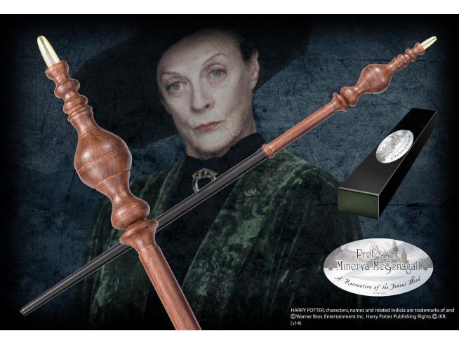 Harry Potter Bacchetta Magica Minerva Mcgranitt Character Noble Collection