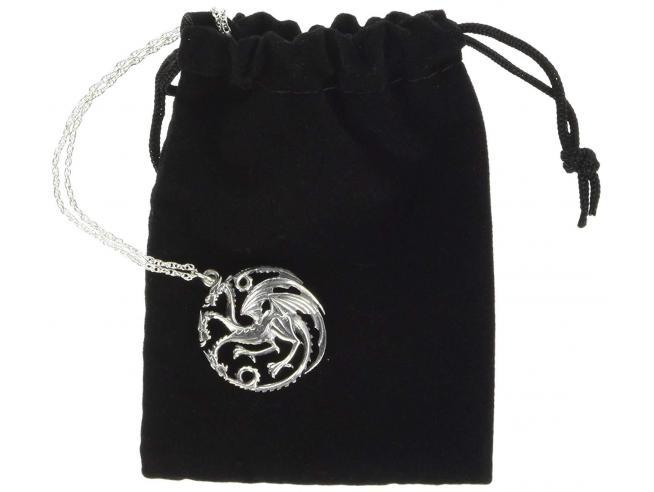 Il Trono Di Spade Ciondolo E Collana Dei Targaryen Noble Collection