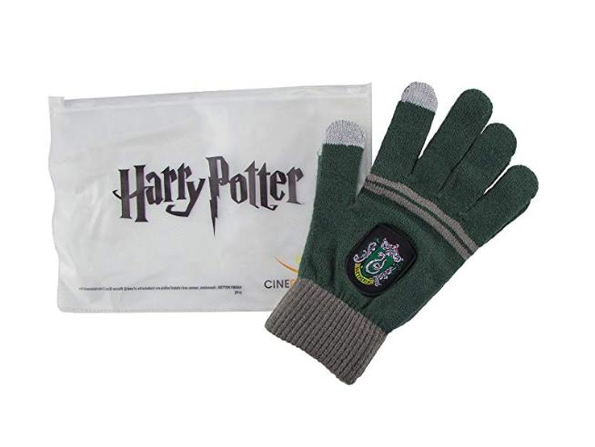 Harry Potter Guanti Serpeverde Replica Ufficiale  Cinereplicas