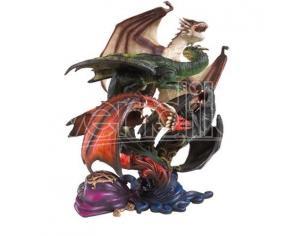 Harry Potter Statua Dei Draghi Della Prima Prova Noble Collection