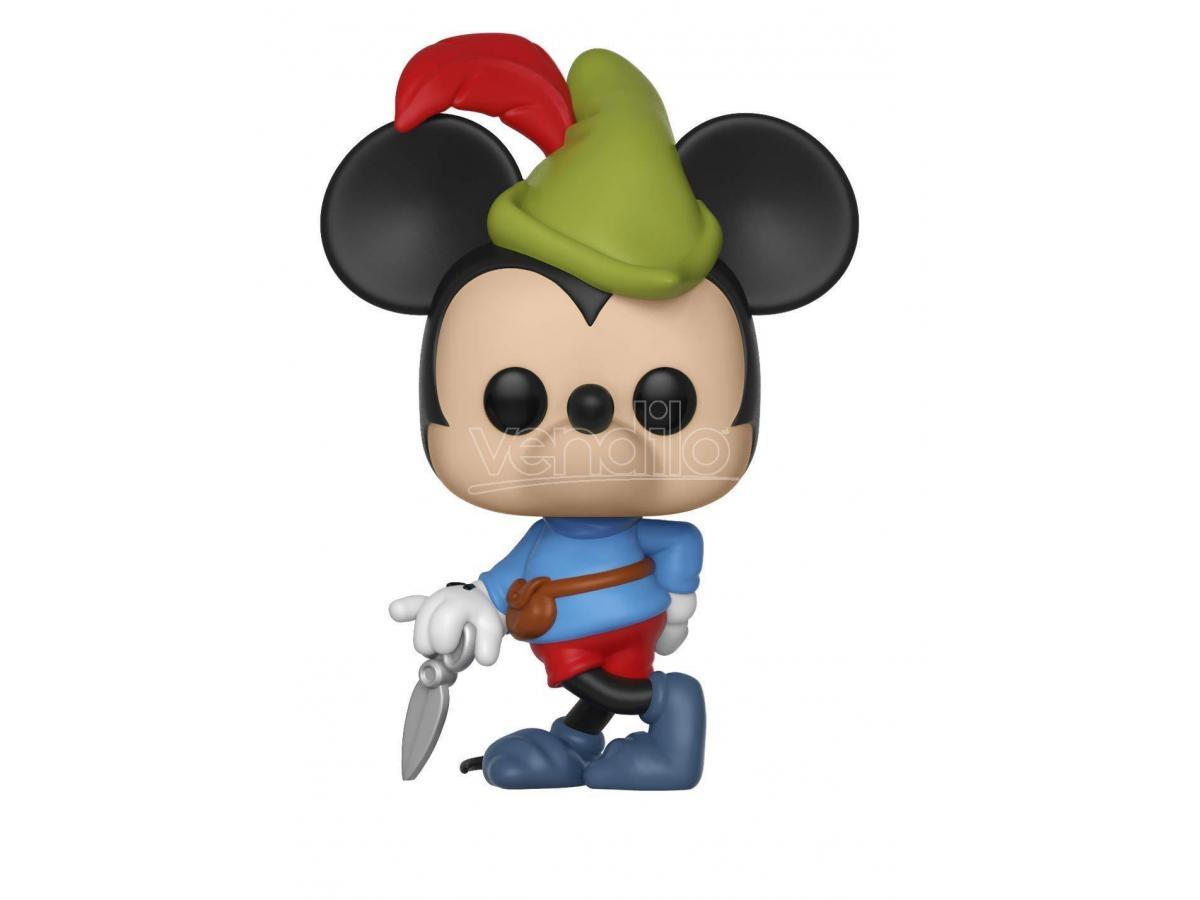 Mickey Mouse 90th Anniversario Funko POP Disney Figura Il Coraggioso Piccolo Sarto 9 cm