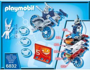 PLAYMOBIL 6832 - SOTTOZERO CON SPACE-JET LANCIA DISCHI