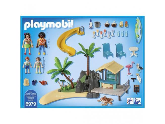 PLAYMOBIL 6979 - ISOLA CARAIBICA CON CHIRINGUITO