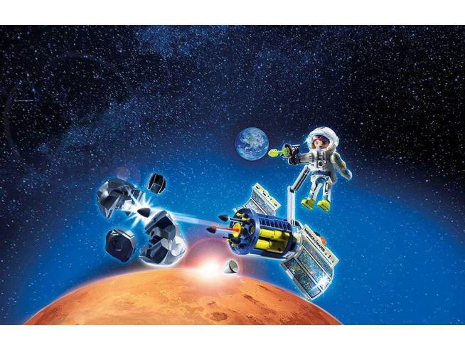 PLAYMOBIL SPACE 9490 - SATELLITE DISTRUGGI METEORITI