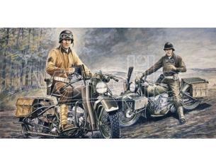 Italeri IT0322 U.S.MOTORCYCLES WWII KIT 1:35 Modellino