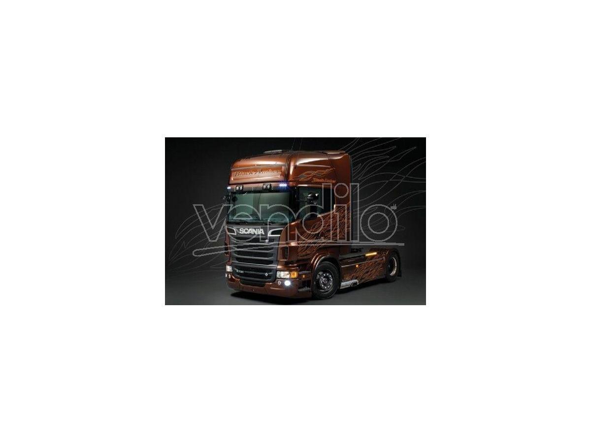 Italeri IT3897 SCANIA R730 V8 BLACK AMBER KIT 1:24 Modellino