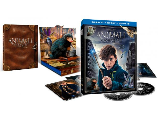 Animali Fantastici E Dove Trovarli Sp.ed Fantasy - Blu-ray