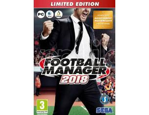 FOOTBALL MANAGER 2018 LTD. ED. MANAGERIALE - GIOCHI PC