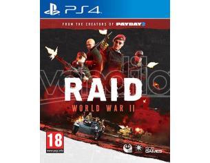RAID: WORLD WAR II SPARATUTTO - PLAYSTATION 4