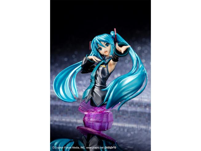 Bandai Model Kit Figura Rise Hatsune Miku Ltd Color Busto Model Kit