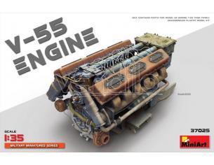 Miniart MIN37025 V-55 ENGINE KIT 1:35 Modellino